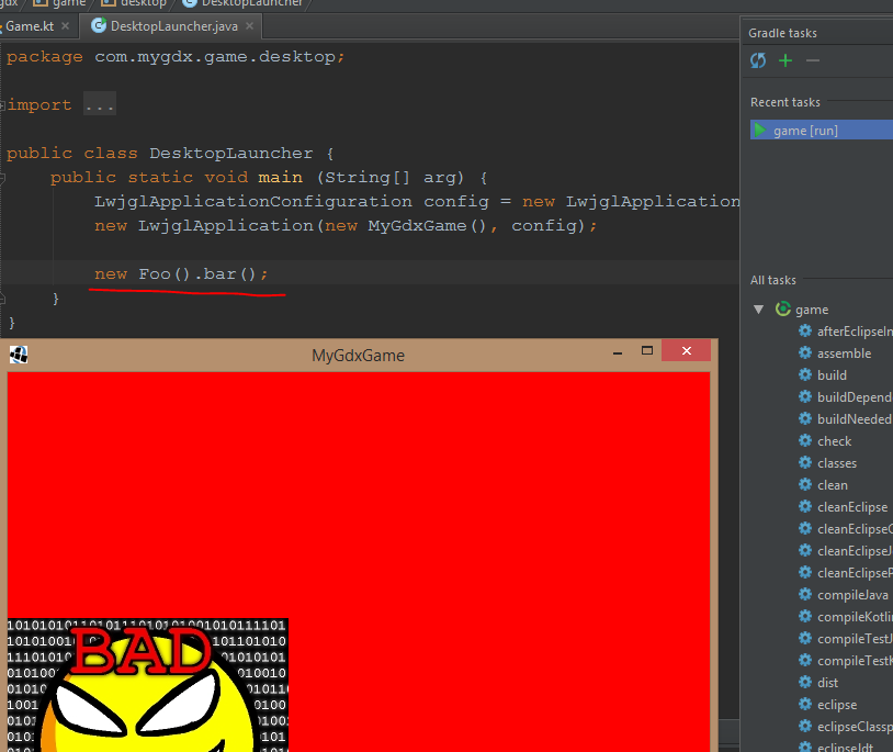 Setting up Kotlin + Libgdx projects in Intellij | Jacky's Blog
